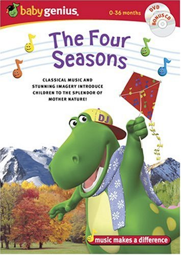 Baby Genius The Four Seasons w/bonus Music CD
