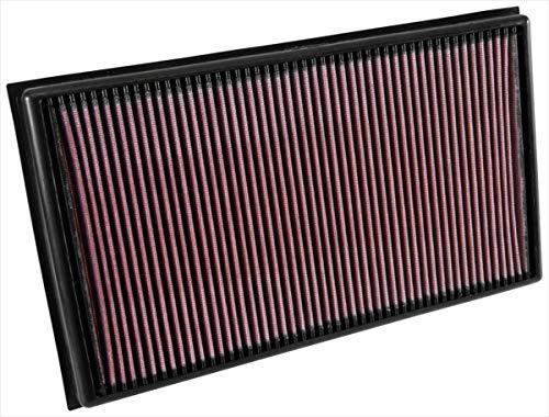 K&N 33-3036 Motorluftfilter: Hochleistung, Prämie, Abwaschbar, Ersatzfilter, Erhöhte Leistung, 2015-2019 (Arteon, Tiguan II, Passat, RS3, TT RS)