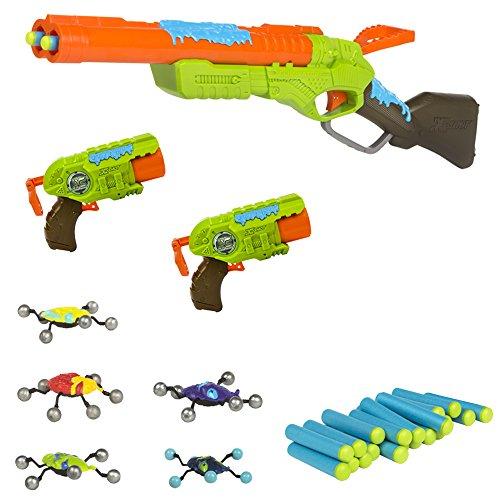 X-Shot - Bug Attack Rifle Eliminator 2 pistolas Predator
