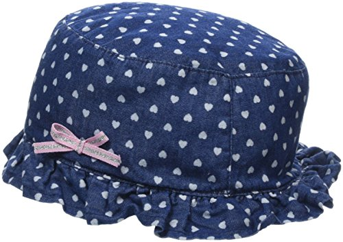 NAME IT Baby-Mädchen NMFBERNA DNM 3027 HAT Sonnenhut, Blau (Dark Blue Denim Dark Blue Denim), 49