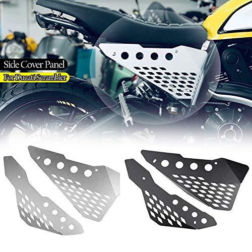 mächtig der welt FAT Express Motorrad Aluminium Seitenabdeckung für Ducati Scrambler Icon…
