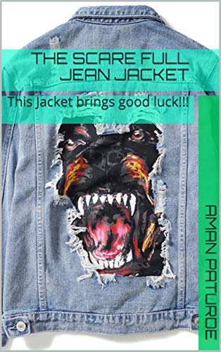 The Scare full Jean Jacket: This Jacket brings good luck!!! (PUSEEGUMS THE SCREAMING WORLD) (English Edition)