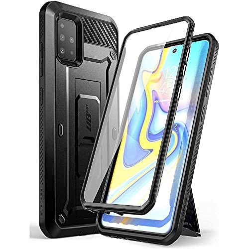 SUPCASE Unicorn Beetle Pro Series Designed for Samsung Galaxy A51 Case (Not Fit A51 5G Version), Full-Body Rugged Holster & Kickstand Case with Built-in Screen Protector (Black) (A51 UBPro)