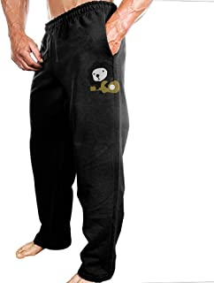 Sweatpants Lion With Guitar Jogger Pants With High-quality 100% Cotton For Daily Leisure Life Home Decoration