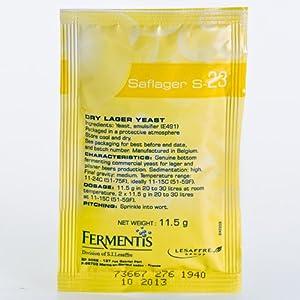 Fermentis Saflager S-23 11, 5 g baja fermentación Levadura de cerveza Levadura seca
