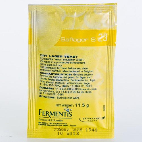 Fermentis Saflager S-23 11, 5g bassa fermentazione Lievito di birra Lievito secco