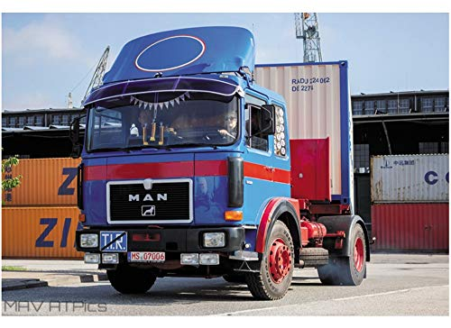 Italeri Man F8 19.321 4x2 Truck LKW 1:24 Model Kit Bausatz 3946