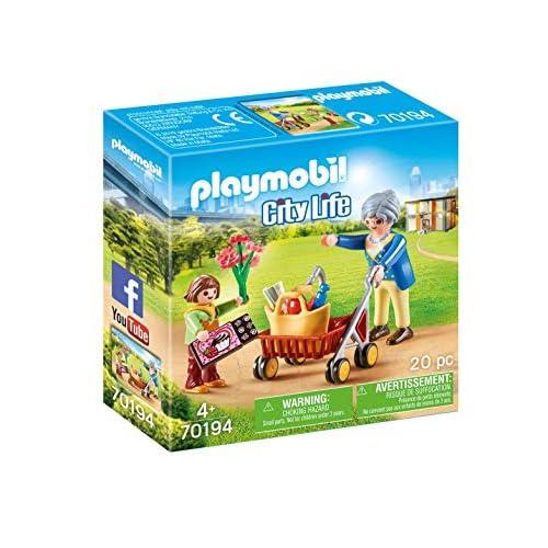 Playmobil City Life 70194 - Nonna Con Nipote, dai 4 anni