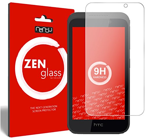ZenGlass Flexible Glas-Folie kompatibel mit HTC Desire 526G Panzerfolie I Bildschirm-Schutzfolie 9H