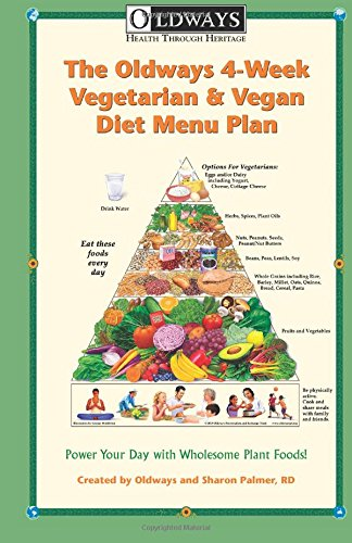 Compare Textbook Prices for Oldways 4-Week Vegetarian & Vegan Diet Menu Plan: Power Your Day with Wholesome Plant Foods 1 Edition ISBN 9780985893927 by Oldways,Palmer RD, Sharon