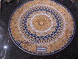 Versace . Assiette Medusa Rhapsody Blue 33 cm