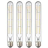 LEOOLS T10 Led Long Bulbs,8W Dimmable Tubular...