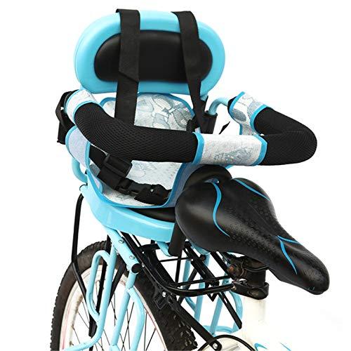 BNVN Asientos Traseros de Seguridad para niños en Bicicleta, Asiento para niños en Bicicleta, Coche eléctrico, Bicicleta Trasera para bebés