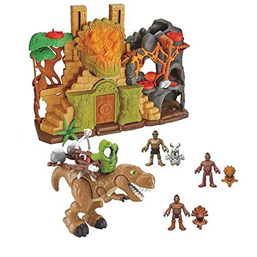 Fisher-Price Imaginext ULTRA Dino Fortress Gift Set - SUPER Playset