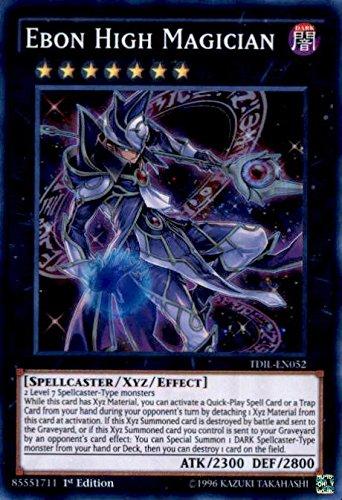 YU-GI-OH! - Ebon High Magician (TDIL-EN052) - The Dark Illusion - 1st Edition - Super Rare