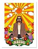 ABIDE The Big Lebowski Limited Edition Fine Art Litho Print by Dave Nestler