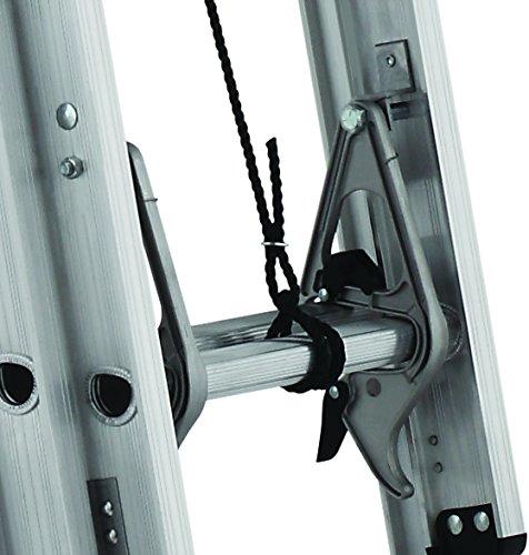 Louisville Ladder 24-Feet Extension Ladder, 300-Pound Duty Rating, AE2224