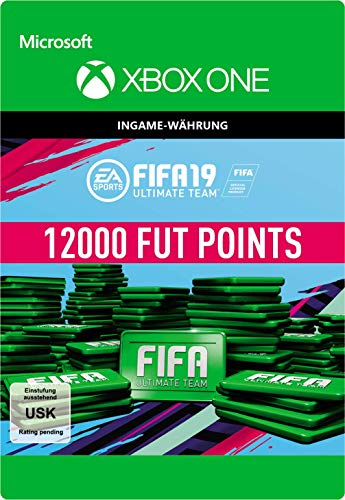 FIFA 19 Ultimate Team - 12000 FIFA Points | Xbox One - Download Code
