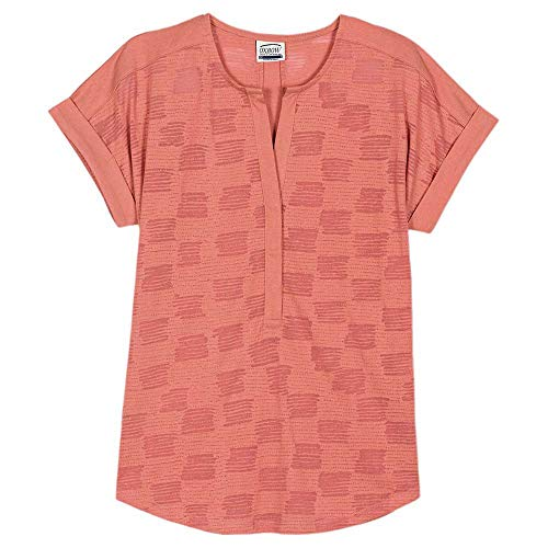 OxbOw M2TIGRE Tee Shirt Femme, Pomelo, FR : S (Taille Fabricant : 1)