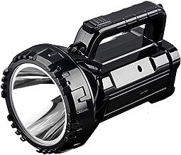 Oplaadbare Heldere LED Zaklamp Zaklamp 20 W Hoog Aangedreven 500 M Zoeklichten Ingebouwde 2800 Mah Lithium Batterij Twee W...