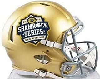 Notre Dame Fighting Irish 2016 San Antonio Shamrock Series Riddell Mini Helmet