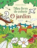O jardim : Meu livro de colorir