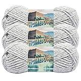 (3 Pack) Lion Brand Yarn 135-225 Hometown Yarn, Springfield Silver