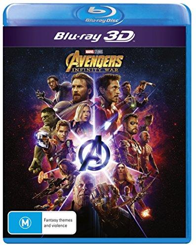 Avengers Infinity War 3D Blu-ray   Region Free
