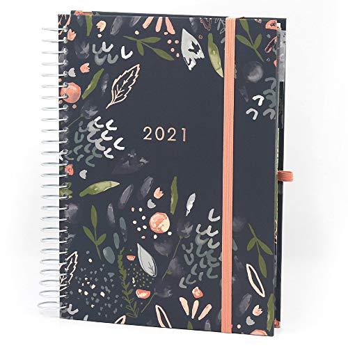(auf Französisch) Boxclever Press 'Mon Agenda au Quotidien' 2020/2021. Kalender A5 von Mitte Aug '20 - Dez '21. Planer 2020 2021 mit Wochenansicht, perforierten Listen, Planungsbereichen & mehr.