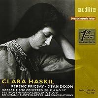 CLARA HASKIL PLAYS MOZART, BEETHOVEN & SCHUMANN by Clara Haskill (2009-08-03)