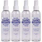 Rejuvenate Advanced Hand Sanitizer Kills 99.99% of Germs Spray Mist Alcohol Free Unscented Made in...