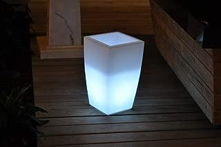 Whiteline Modern Lighting Beauty Floor Lamp White