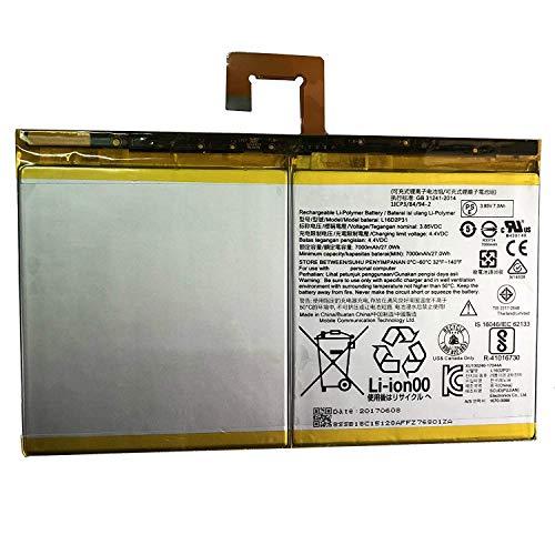 onlyguo 3.85V 27Wh 7000mAh L16D2P31 Reemplazo de batería de Tableta para Lenovo Tab 4 10/10 Plus Tablet Series