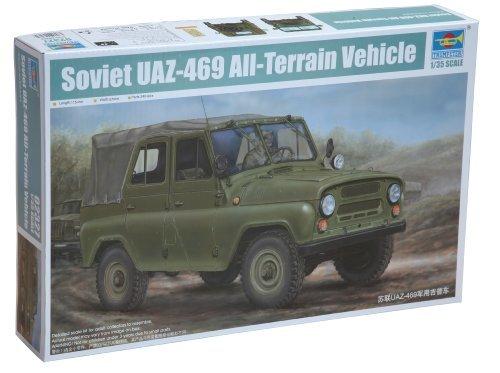 Trumpeter 1:35 - UAZ-469 Soviet All-Terrain Vehicle - TRU02327
