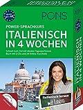 PONS Power-Sprachkurs Italienisch in 4 Wochen: Schnell zum Ziel mit idealen Tagesportionen. Buch mit 2 CDs und 24 Online-Kurztests - PONS GmbH