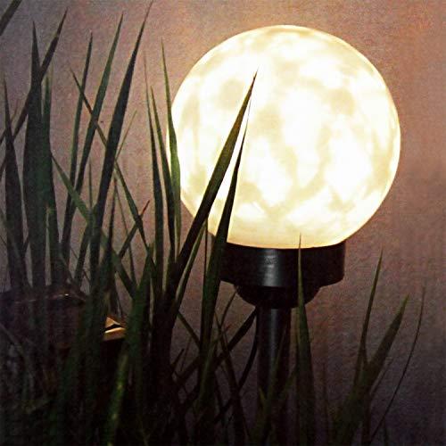HI Lámpara de Bola Solar LED de Jardín Giratoria Luces Hogar Diseño...