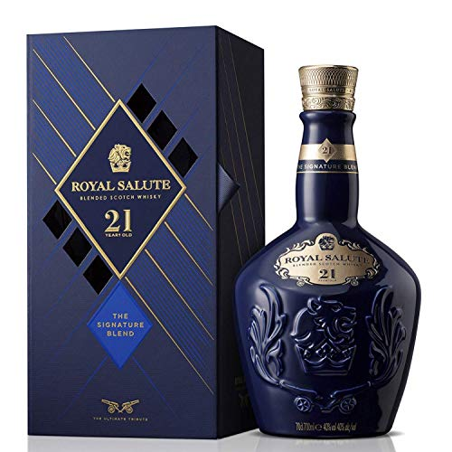 Royal Salute 21 Años Whisky Escocés de Malta - 700 ml