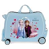 Disney Frozen In The Woods Maleta Infantil Azul 50x39x20 cms Rígida ABS Cierre de combinación Lateral 34L 2,1 Kgs 4 Equipaje de Mano