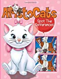 Aristocats Spot The Difference: Perfect Book Aristocats Picture Puzzle Activity Books For Adult And Kid