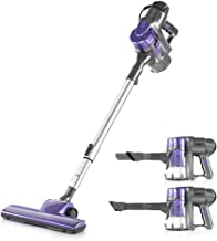 Devanti 450W 2 in 1 Electric Corded Stick Vacuum Cleaner Ultra Lightweight Portable Handheld Handstick Vac Bagless Upright...