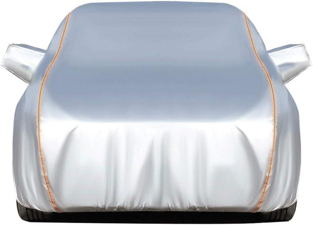 JYRD Copriauto Telo Copriauto Compatibile con Alfa Romeo Giulia Giulietta GT Cover Protettiva Impermeabile Traspirante Anti-UV Abbigliamento per Auto Copertine Completa Esterni telone