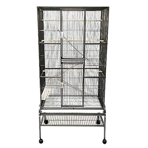 Exotic Nutrition Congo Cage - Durable 68' Tall Cage - for Sugar Gliders, Squirrels, Marmosets & Other Small Pets