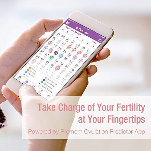 EasyHome-Smart-Basal-Thermometer-Large-Screen-and-Backlit-Period-Tracker-with-Premom-iOS-Android-Auto-BBT-Sync-Charting-Coverline-Accurate-Fertility-Prediction-BT-A31