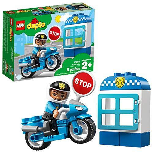 LEGO DUPLO Town Police Bike 10900 Building Blocks (8 Pieces)