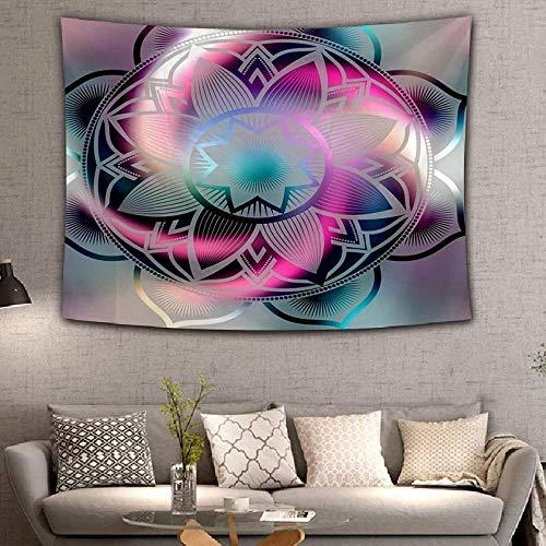 Hogar dormitorio decoración de la pared tapiz Dreamlike Mandala Tapiz Colgante de pared Sandy Beach Throw Rug Manta Tienda de campaña Colchón de viaje Cojín de dormir bohemio