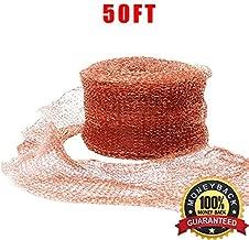 Haierc Copper Mesh DIY Pure Coper Fill Fabric 100% Copper Roll 5
