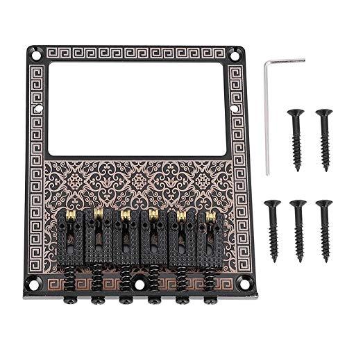 2 x Rosewood Bridge Bone Sattelmutter für 3 saitige Zigarrenbox Gitarre