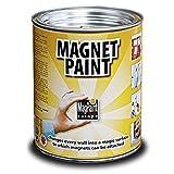 MagPaint Pintura imán, Gris (Dark Grey), 0.5 L