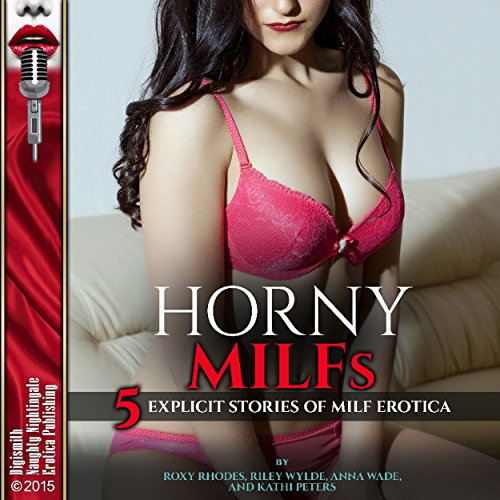 Horny MILFs audiobook cover art