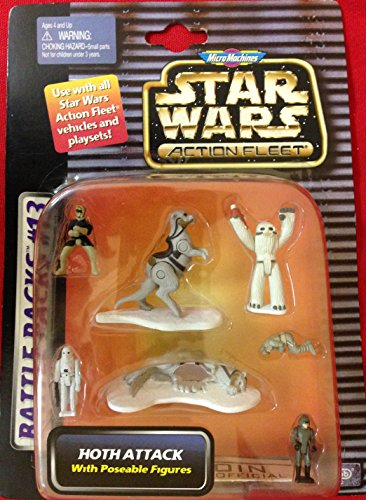 Battle Packs #13 - Hoth Attack - Star Wars Action Fleet - MicroMachines by Star Wars